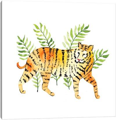 Jungle Tiger Canvas Art Print