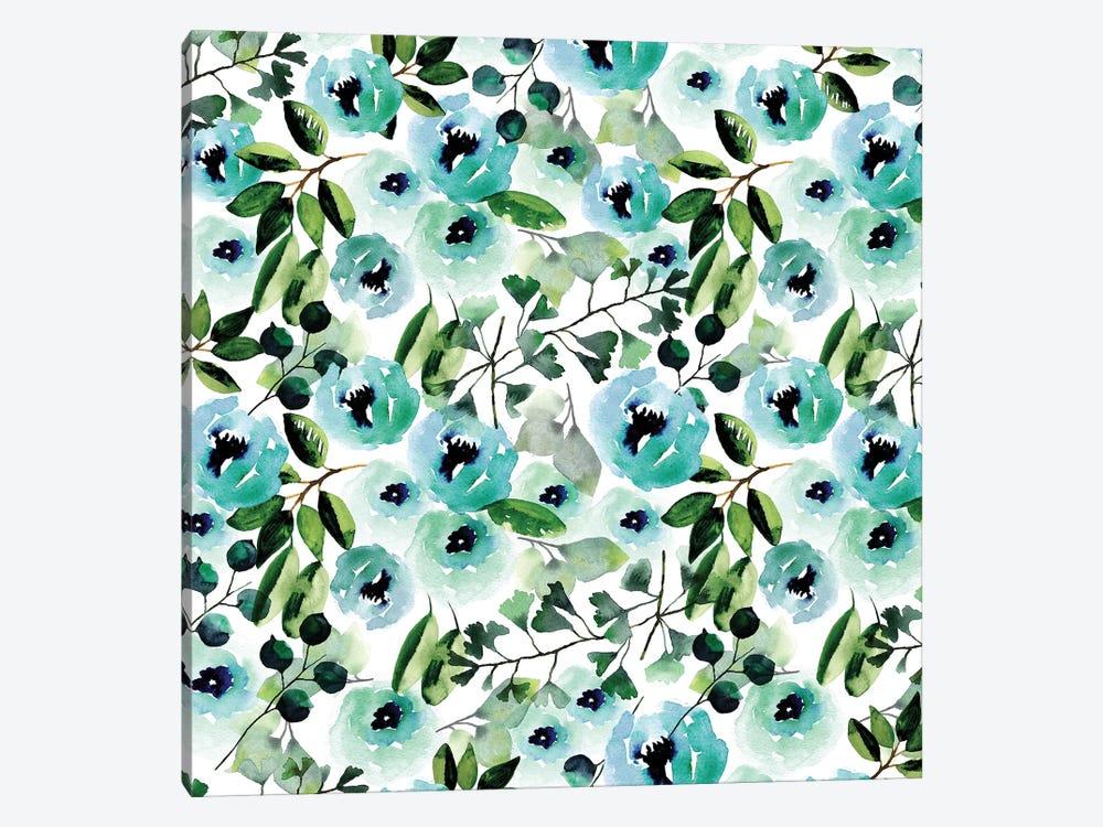 Blue Peony by Sara Berrenson 1-piece Art Print
