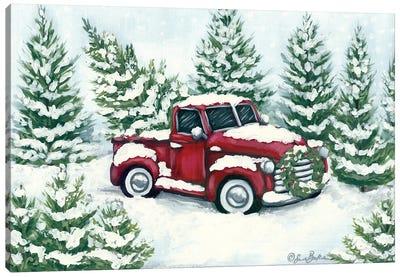 Tree Farm Tradition Canvas Art Print