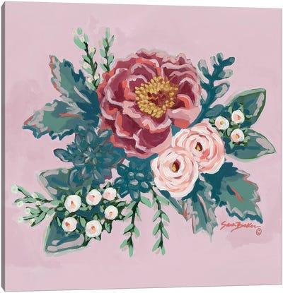 Peony Spring  Canvas Art Print