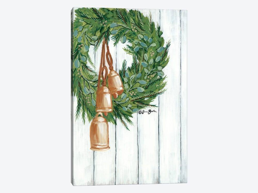 Copper Bells Ring by Sara Baker 1-piece Canvas Artwork