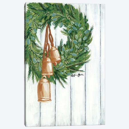 Copper Bells Ring Canvas Print #SBK1} by Sara Baker Canvas Print