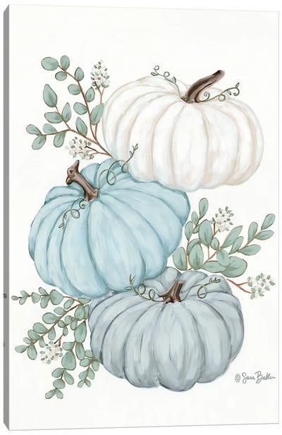Pumpkin Trio Canvas Art Print