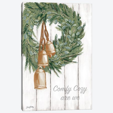 Copper Bells Ring Canvas Print #SBK29} by Sara Baker Canvas Art Print