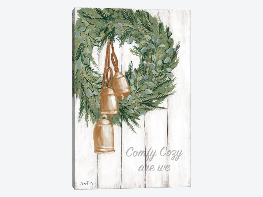 Copper Bells Ring by Sara Baker 1-piece Canvas Wall Art