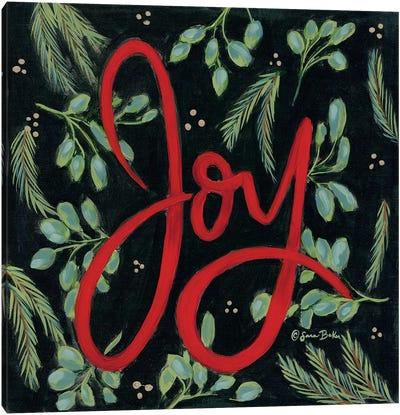 Spruced Up Joy Canvas Art Print