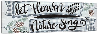 Heaven and Nature   Canvas Art Print