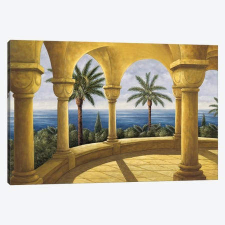 Ocean View I Canvas Print #SBL1} by Samuel Blanco Canvas Art