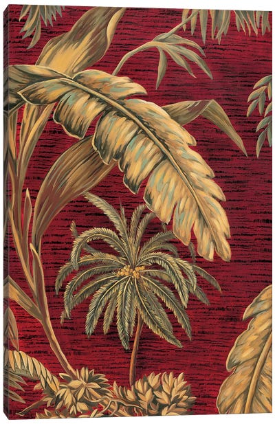 Tropical II Canvas Art Print