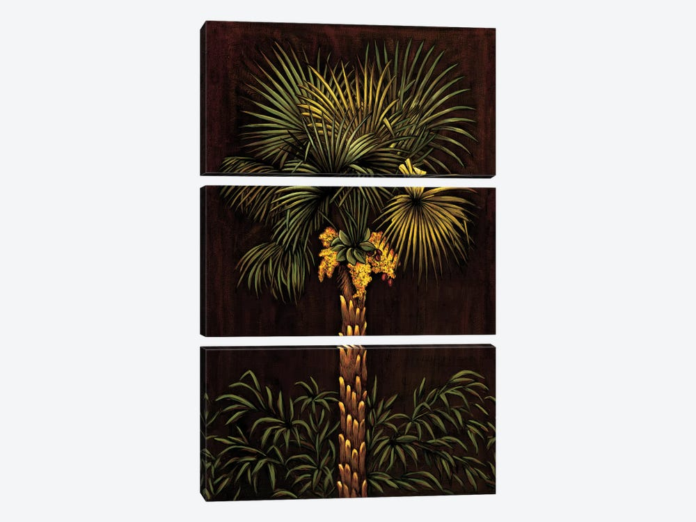 Tropical Paradise I by Samuel Blanco 3-piece Canvas Art