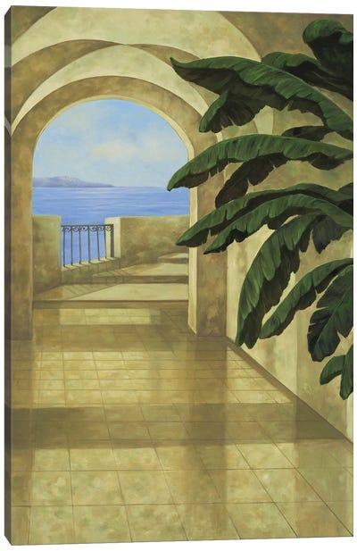 Ocean Villa II Canvas Art Print