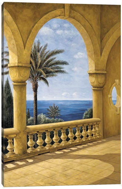 Ocean View II Canvas Art Print