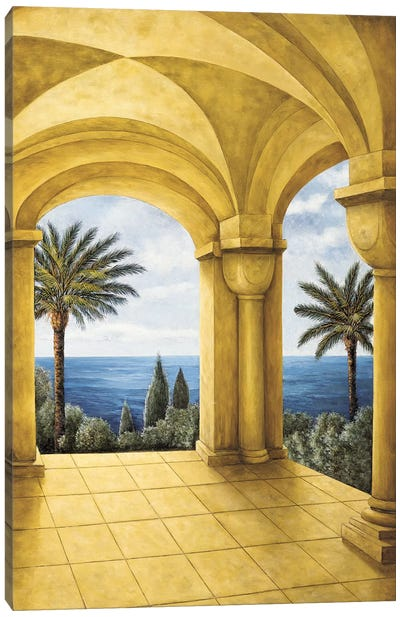 Ocean View III Canvas Art Print