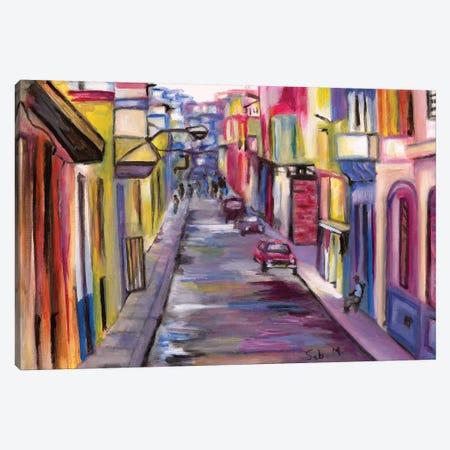 La Habana 3-Piece Canvas #SBM13} by Sebastien Montel Canvas Art