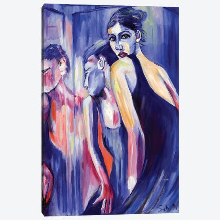 Prima Ballerina 3-Piece Canvas #SBM17} by Sebastien Montel Canvas Print