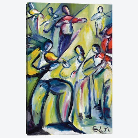 Symphony 3-Piece Canvas #SBM21} by Sebastien Montel Canvas Art Print