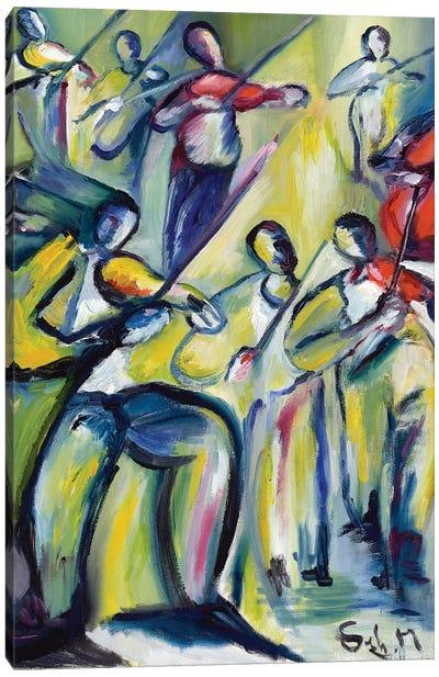 Symphony Canvas Art Print