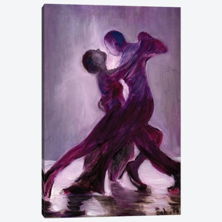 Tango I 3-Piece Canvas #SBM22} by Sebastien Montel Canvas Print