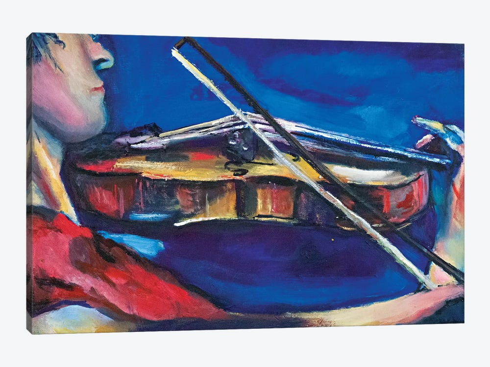 The Violinist by Sebastien Montel 1-piece Art Print