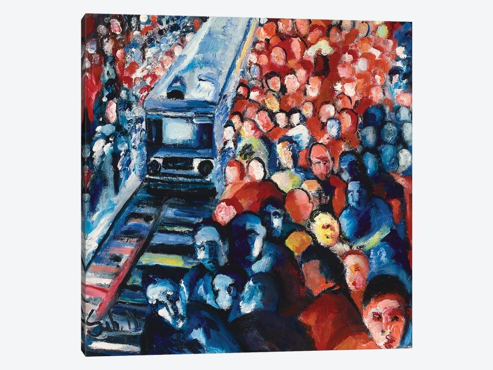 Train Station by Sebastien Montel 1-piece Canvas Art