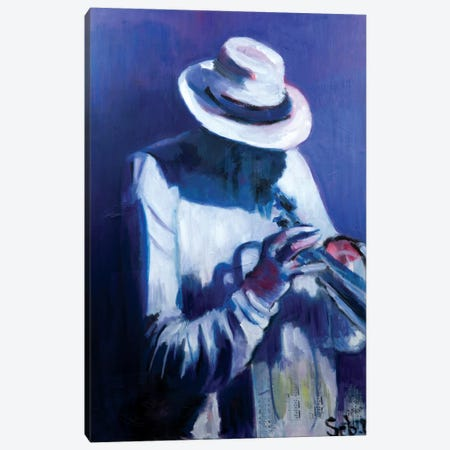 Saturday Night Canvas Print #SBM30} by Sebastien Montel Canvas Artwork