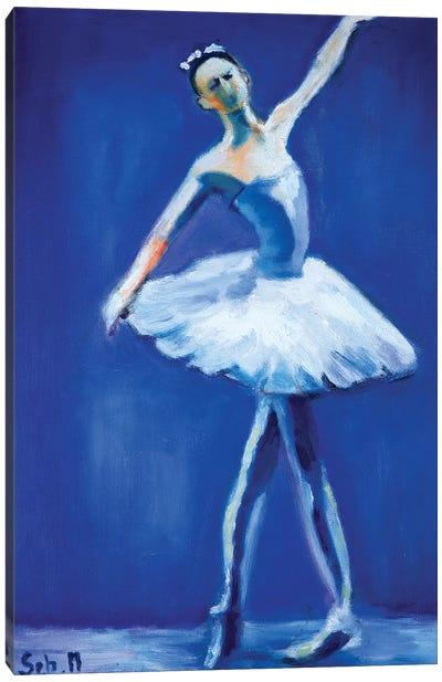 Swan Lake II Canvas Art Print
