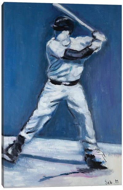 The Batter Canvas Art Print