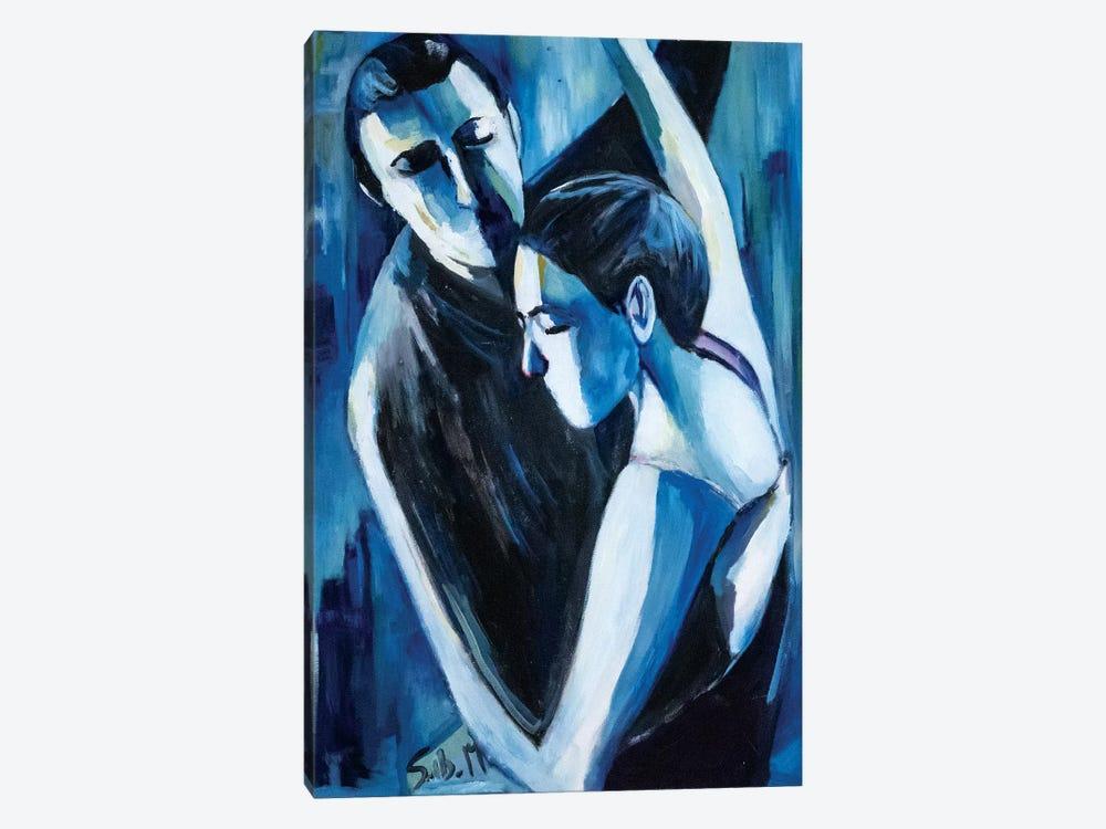 Blue Tango by Sebastien Montel 1-piece Art Print