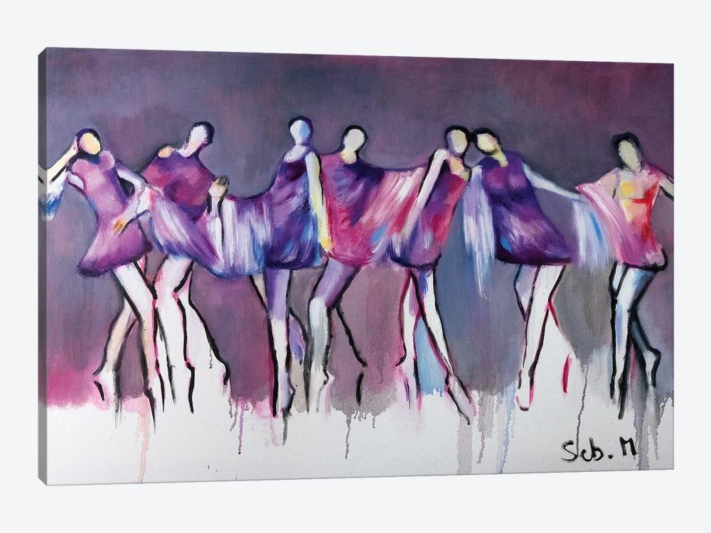 Cabaret by Sebastien Montel 1-piece Canvas Wall Art