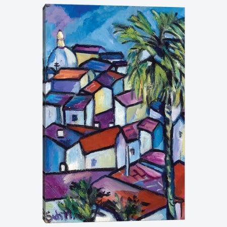 Casablanca Canvas Print #SBM6} by Sebastien Montel Canvas Wall Art