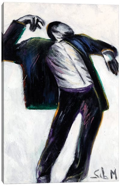 Disjointed Dancer Canvas Art Print