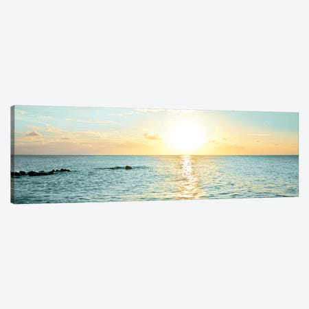 Bimini Horizon I Canvas Print #SBT10} by Susan Bryant Canvas Art Print