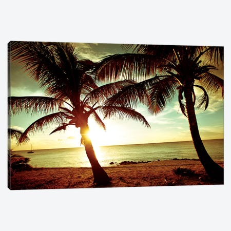 Bimini Sunset Canvas Print #SBT12} by Susan Bryant Canvas Art Print