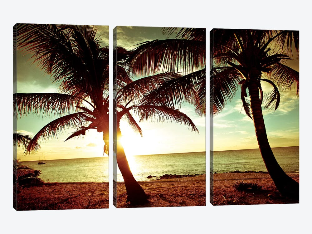 Bimini Sunset by Susan Bryant 3-piece Art Print