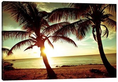 Bimini Sunset Canvas Art Print