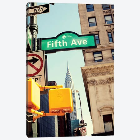 Chrysler and Fifth Canvas Print #SBT15} by Susan Bryant Canvas Wall Art