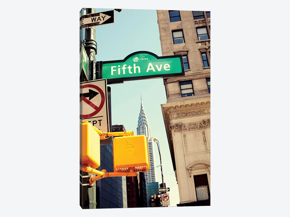 Chrysler and Fifth by Susan Bryant 1-piece Canvas Wall Art