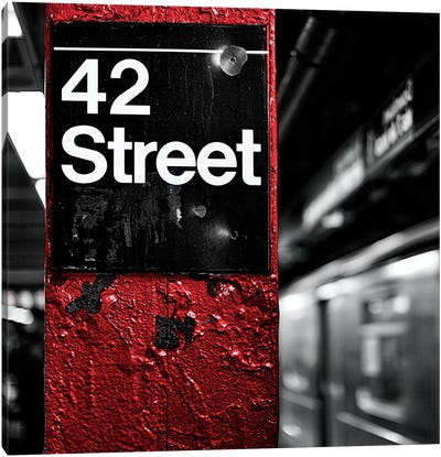 42nd St. Square Canvas Art Print