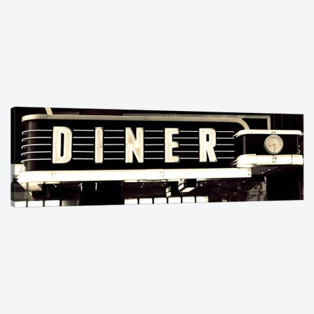 Diner Canvas Print #SBT20} by Susan Bryant Canvas Art