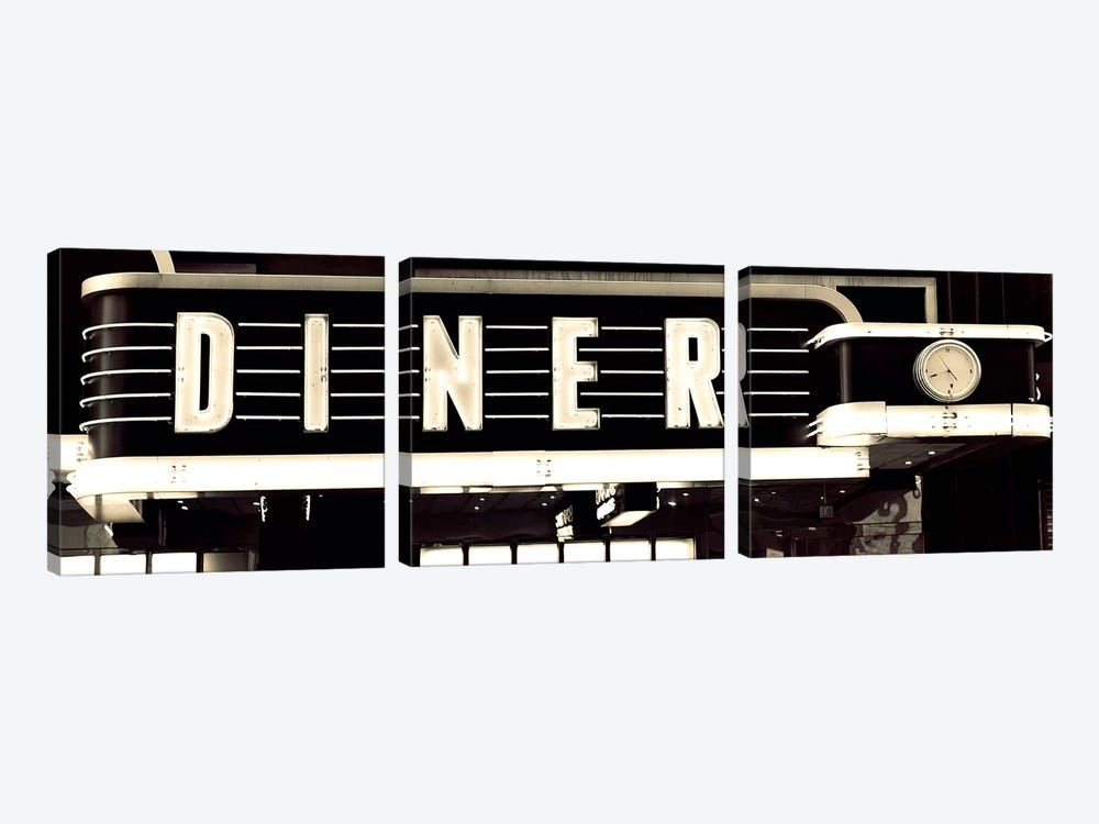 Diner by Susan Bryant 3-piece Canvas Art