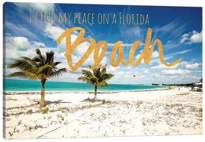 Florida Beach Canvas Art Print