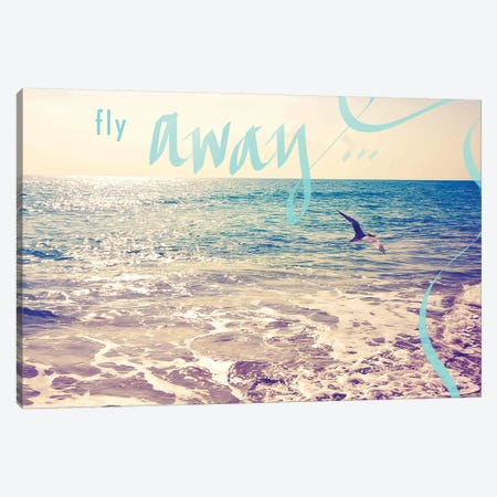Fly Away Canvas Print #SBT25} by Susan Bryant Art Print