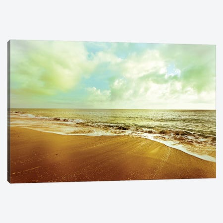 Gold Beach Canvas Print #SBT26} by Susan Bryant Art Print