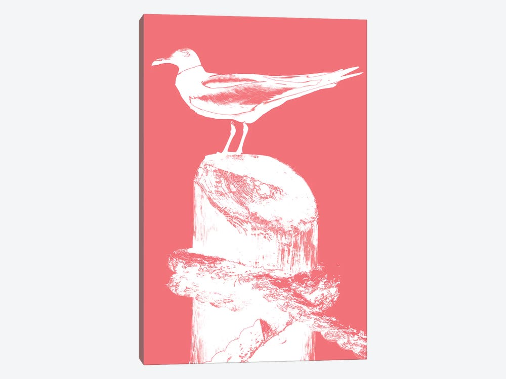 Perching Seabird I by Susan Bryant 1-piece Canvas Print