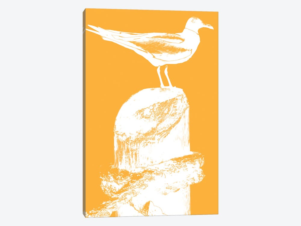 Perching Seabird III by Susan Bryant 1-piece Art Print