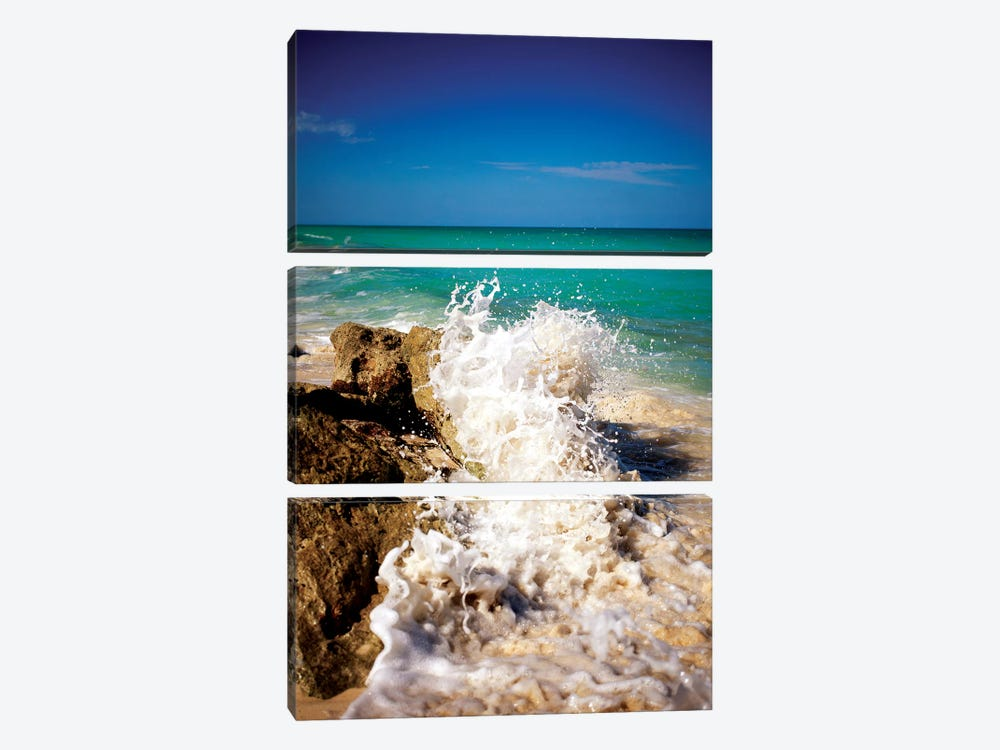 Rising Tide II by Susan Bryant 3-piece Canvas Wall Art