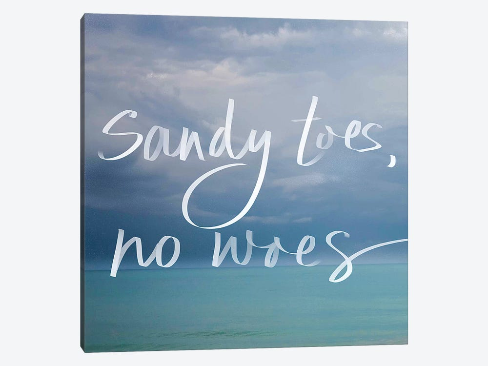 Sandy Toes by Susan Bryant 1-piece Art Print