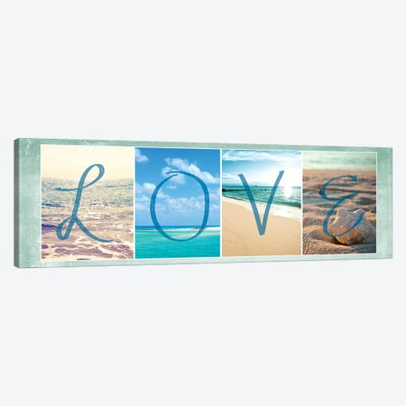 Sea Love Canvas Print #SBT43} by Susan Bryant Canvas Artwork