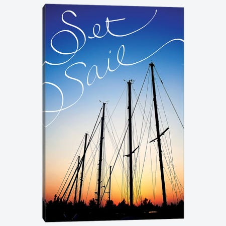 Set Sail Canvas Print #SBT45} by Susan Bryant Canvas Art Print