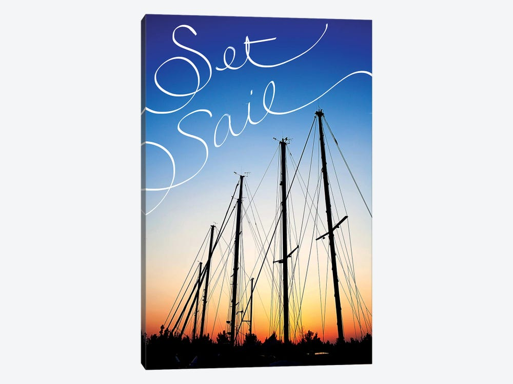 Set Sail by Susan Bryant 1-piece Canvas Print